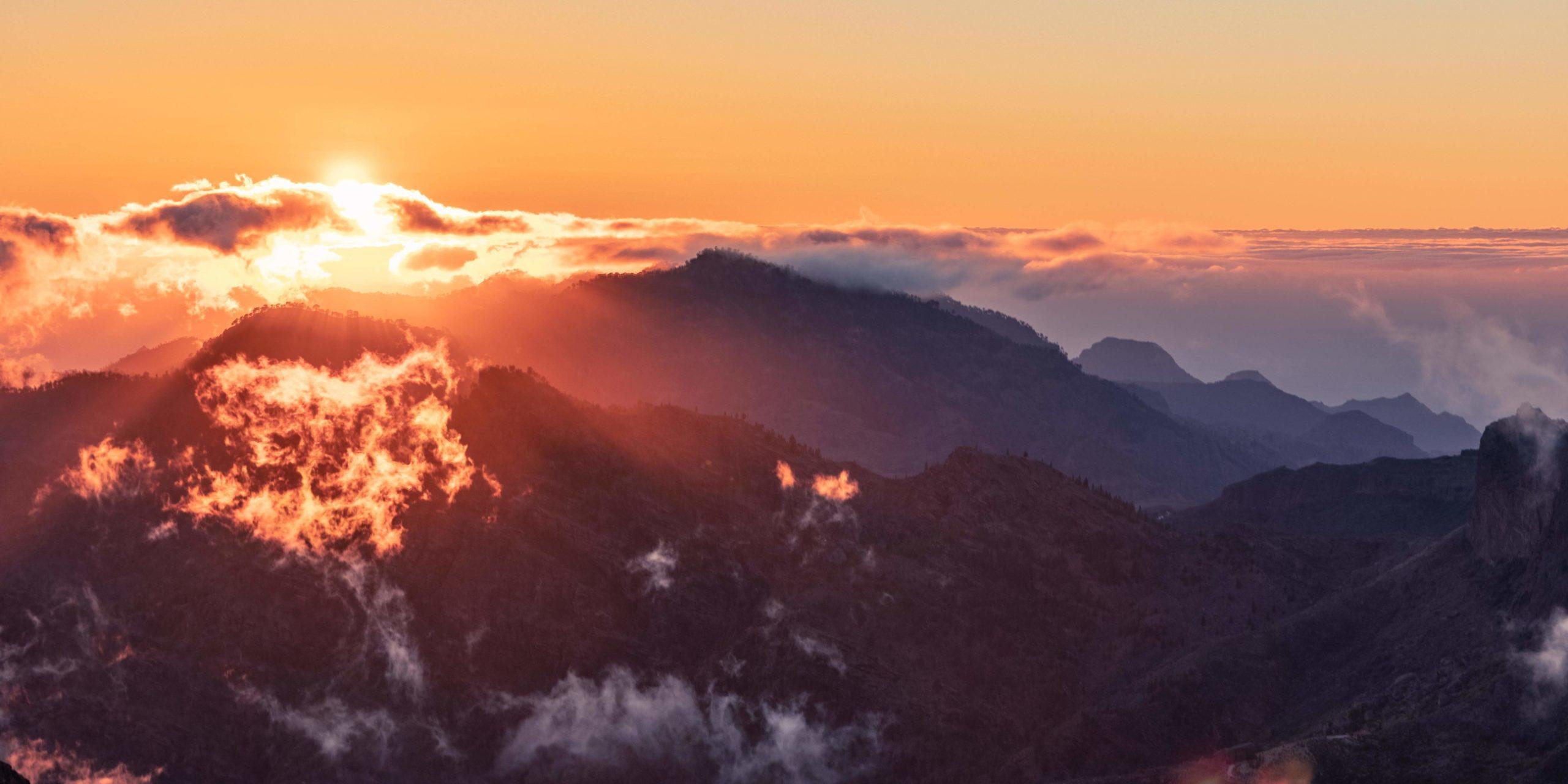 Vistas desde la Ventana del Nublo, Gran Canaria