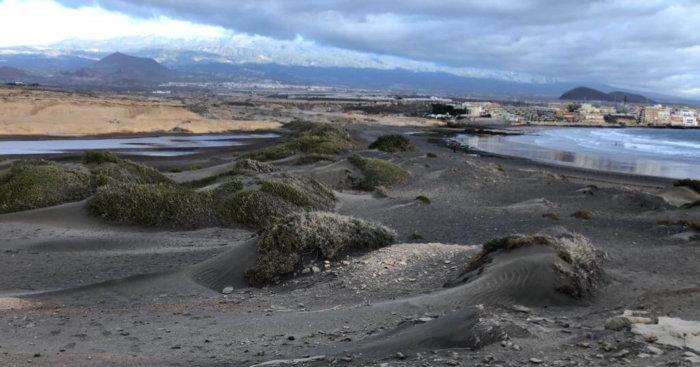 Lainakai, Montaña Roja, La Tejita, El Médano