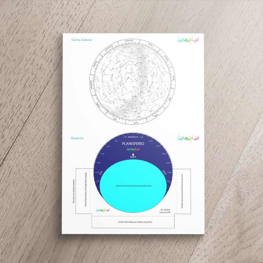 Planisferio Lainakai