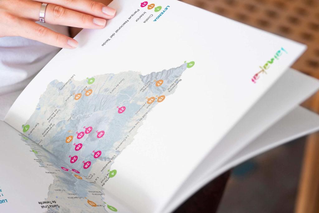 Mapa de Guía de Tenerife