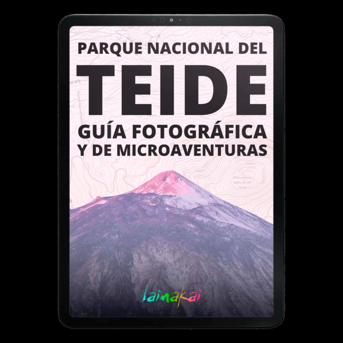 Teide Guía fotográfica del Parque Nacional del Teide en iPad