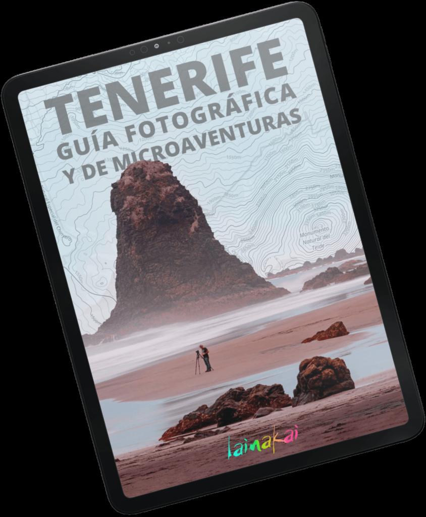 Guía fotográfica de Tenerife en iPad pro