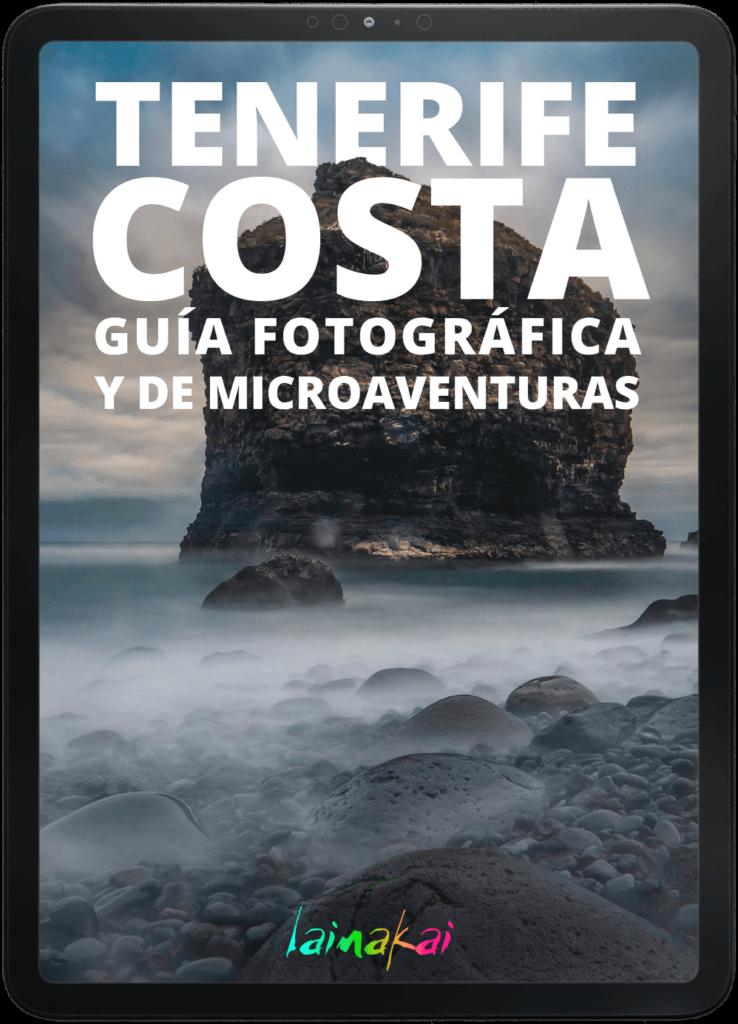 Guía fotográfica de costa de Tenerife en iPad pro