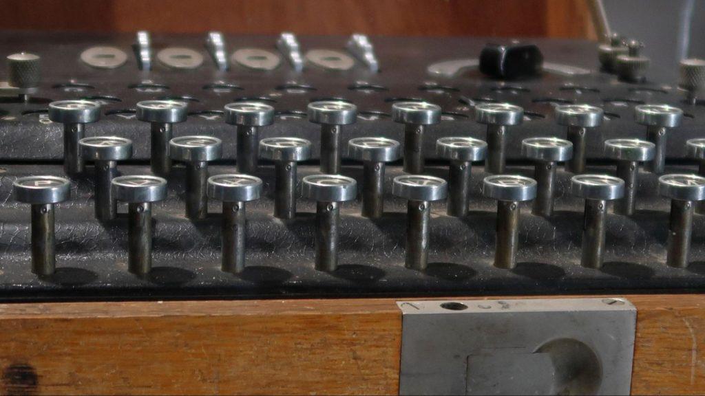 Máquina de cifrado Enigma, Museo Histórico Militar de Canarias.