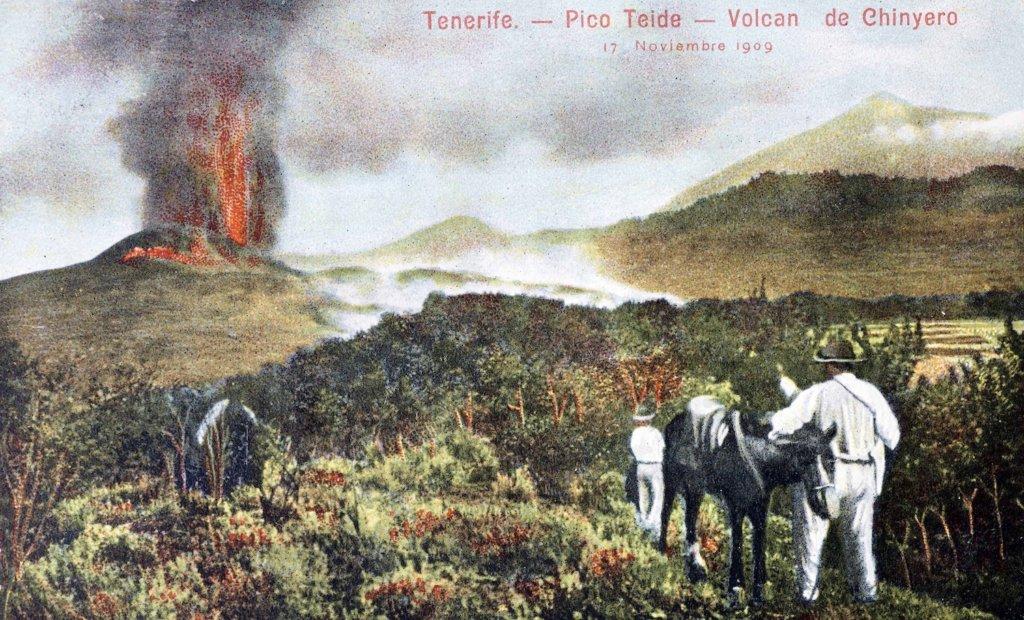 Volcán Chinyero, Tenerife, https://www.fotosantiguascanarias.org
