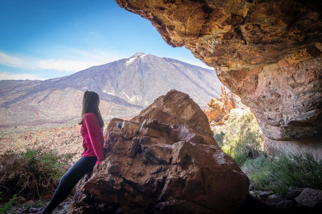 La Cueva del Capricho del Teide - Lainakai