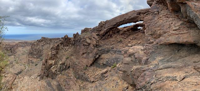 Arco del Coronadero, Barranco Hondo, Gran Canaria