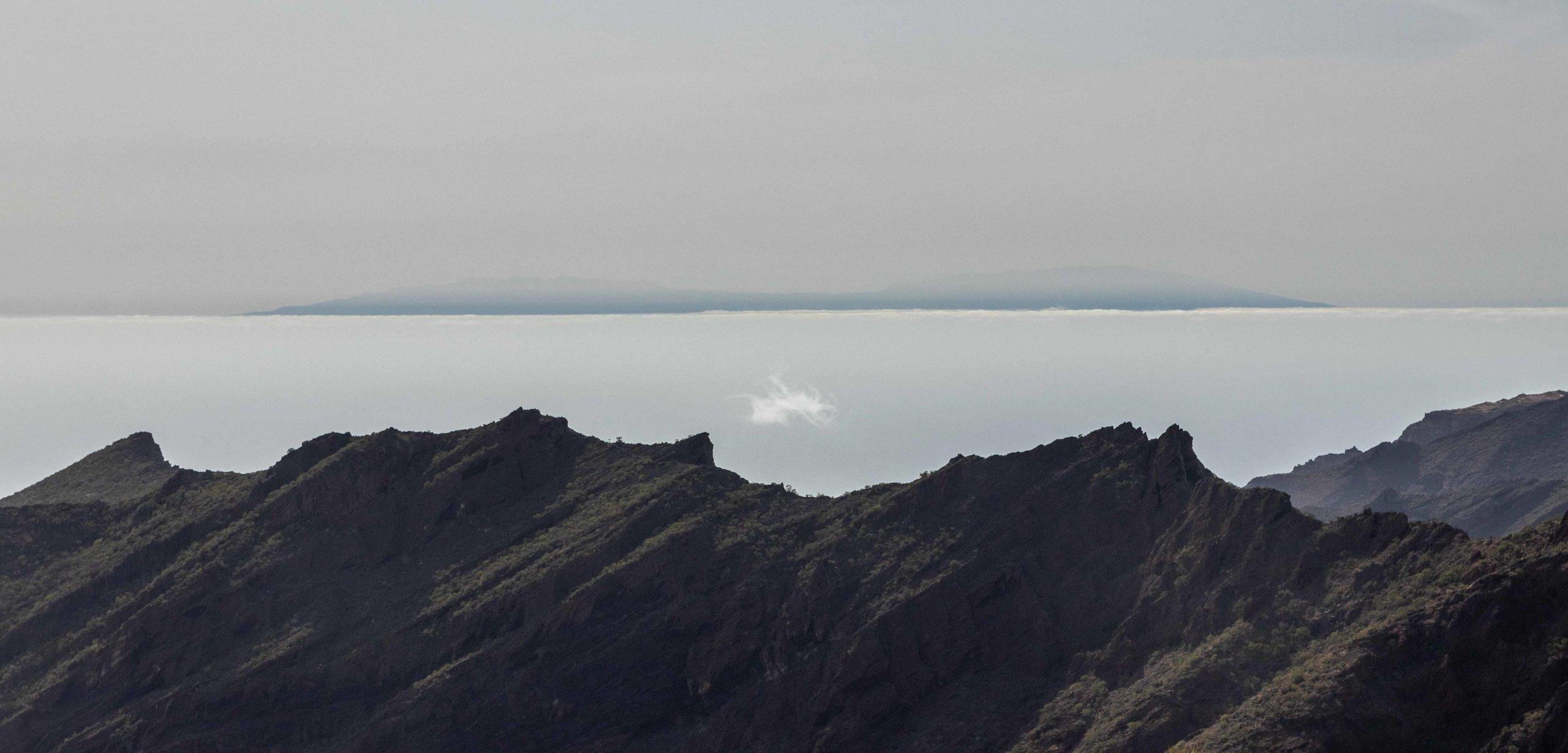 La Palma desde Pico Yeje, Masca