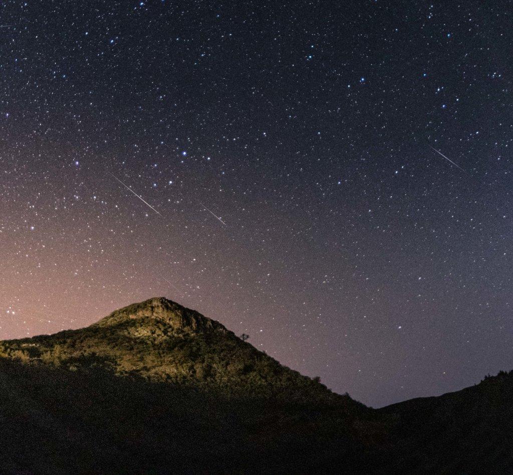 Lluvia de estrellas, Canarias, perseidas, gemínidas