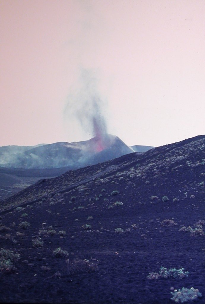 Teneguía 1971, La Palma