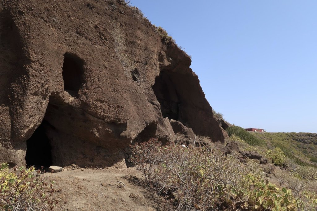 Cuevas del Calacio, Telde.